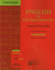 English for physiotherapy Podręcznik z płytą CD, Ciecierska Joanna