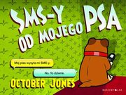 SMS-y od mojego Psa, October Jones
