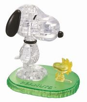 Snoopy i Woodstock Crystal Puzzle,